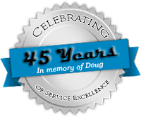Celebrating 45 Years of Service Excellence